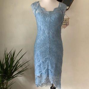 Free People light blue mini dress